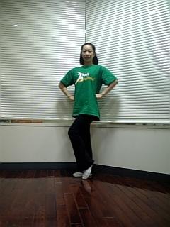 Tシャツ緑