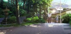 浄智寺駐車場付近阪