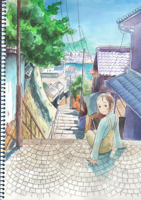 文学の坂(小)