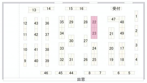 イベント配置図