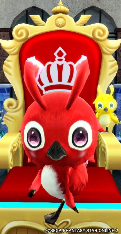 赤の王座の保護色ラッピー