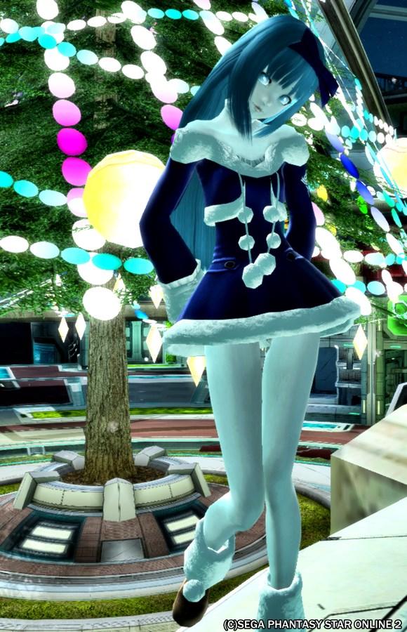 青い子だってクリスマス楽しみたい><