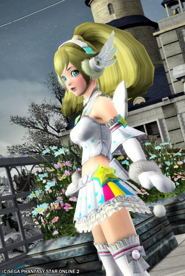 アイドルの冬衣装~♪
