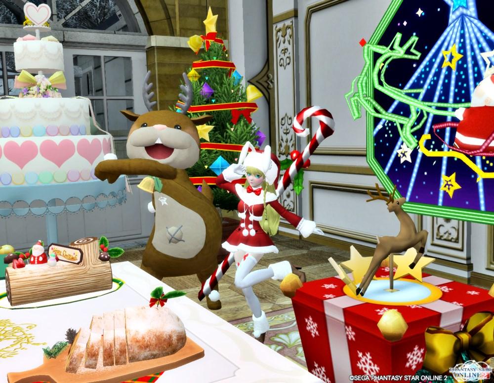 クリスマスもPSO2三昧です!皆さんに良いプレゼントがありますように♪