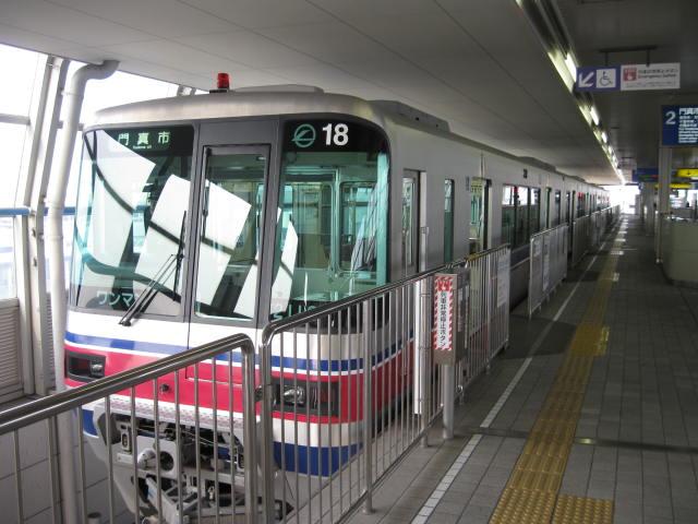 大阪モノレールの1