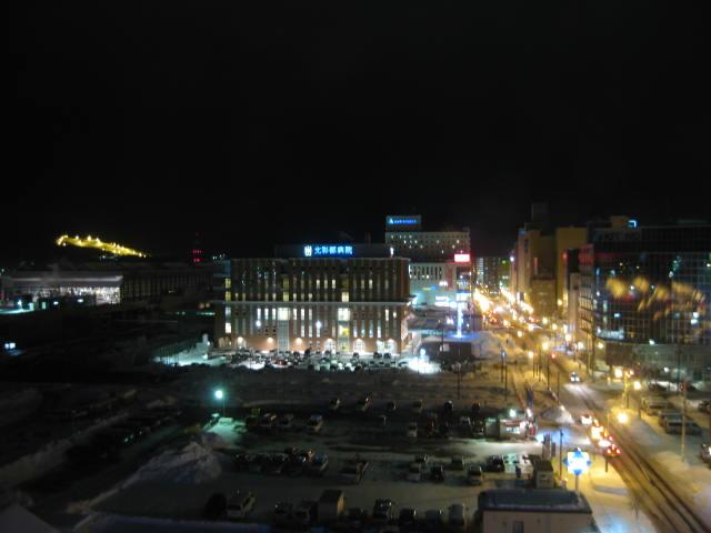 旭川駅夜景