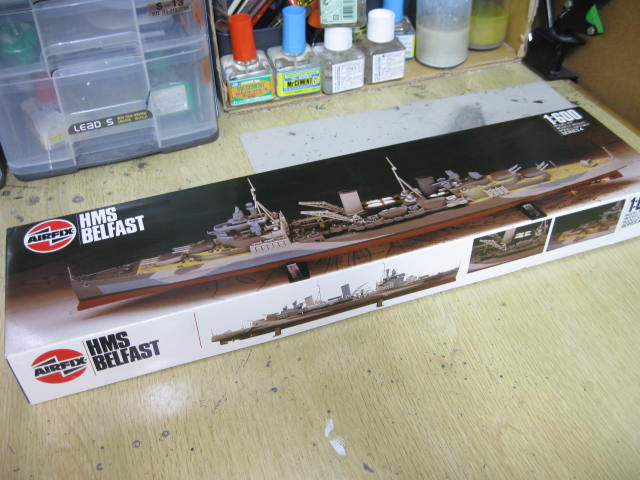 HMS BELFAST 1:600
