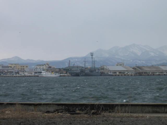 函館港 3月5日
