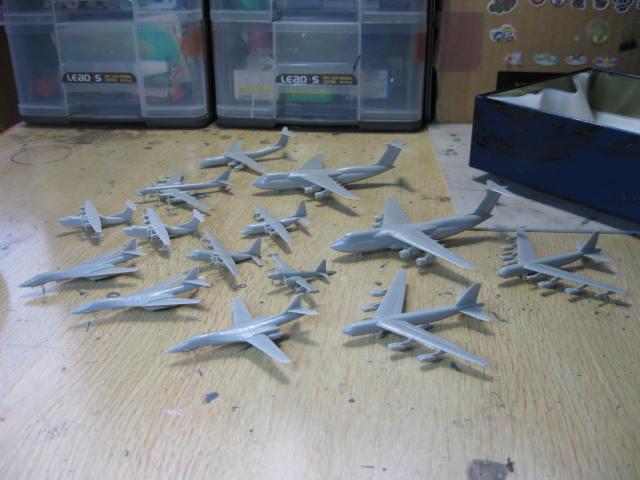 1/700 の飛行機