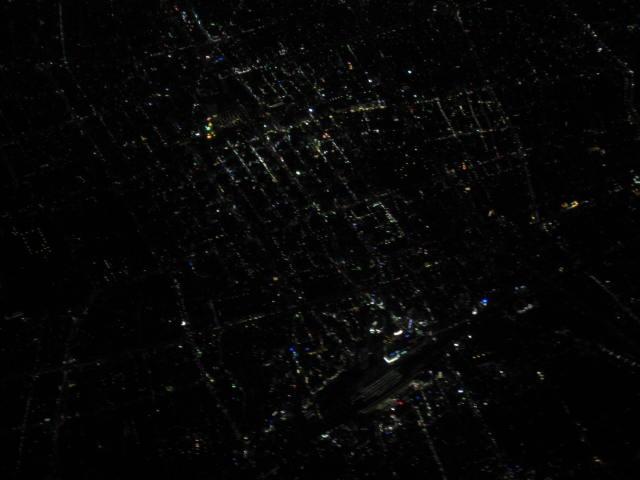 名古屋の夜景??・・・