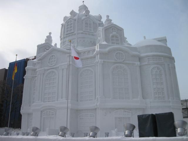 札幌雪祭り2010の1