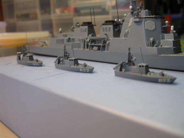 ミサイル艇1号型の1