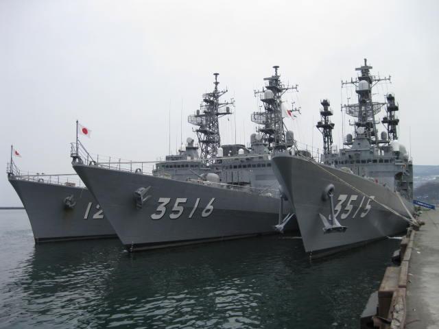海上自衛隊練習艦隊の2