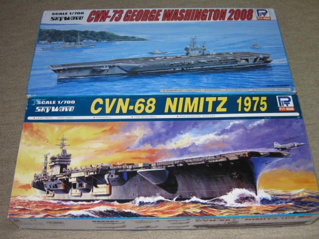 CVN-63 & CVN-73