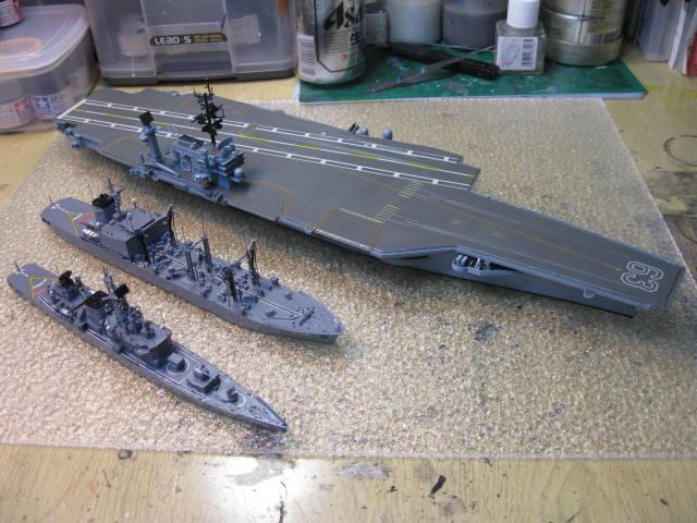 USS KITTY HAWK CV-63 の11