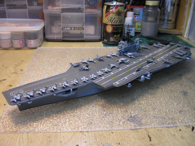USS KITTY HAWK CV-63 の13