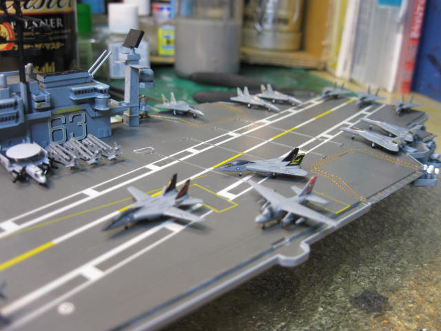 USS KITTY HAWK CV-63 の16