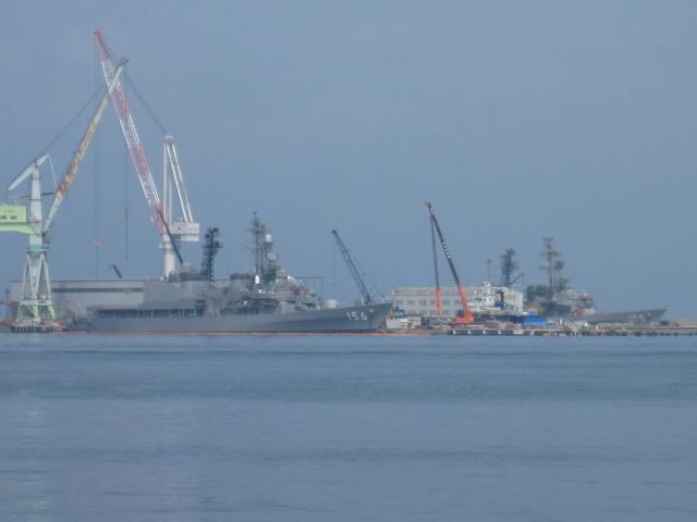 きり級護衛艦の2