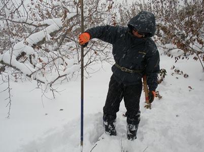 積雪 1メートル以上!
