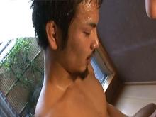 ゲイ動画:エロ狂い生堀り半熟種付け温泉 !!