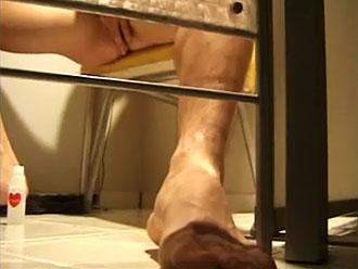 ゲイ動画:ここは性処理館、全部見えない方がエロ興奮 !!