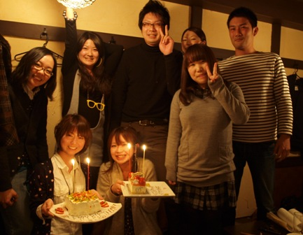 まいまいちゃん&まきちゃん お誕生日おめでとうです!!