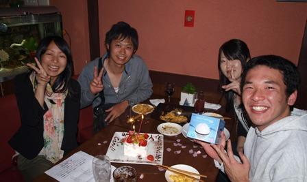 せいじさんお誕生日おめでとうございます!