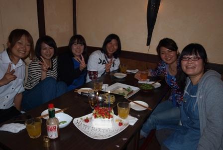 くじらちゃんお誕生日おめでとうです!