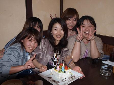 みっこさんお誕生日おめでとうです!