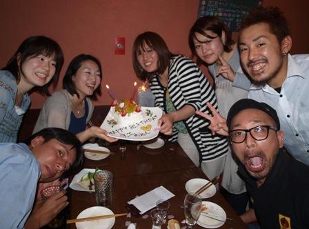 妙ちゃん誕生日おめでとう!