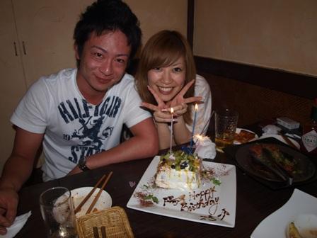 おめでとうです!ようこさんお誕生日