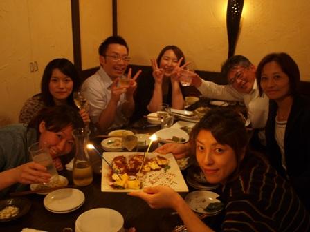 ゆりさんお誕生日おめでとうです!