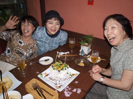 栄子さん61歳誕生日おめでとうです!!
