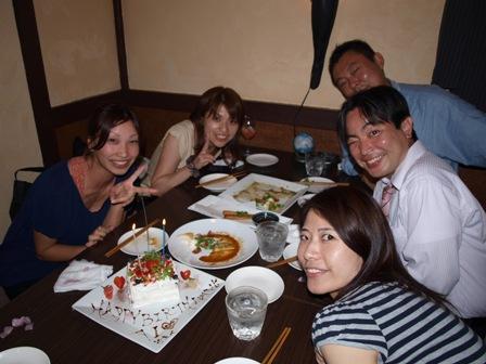 おめでとうです!AIちゃん誕生日