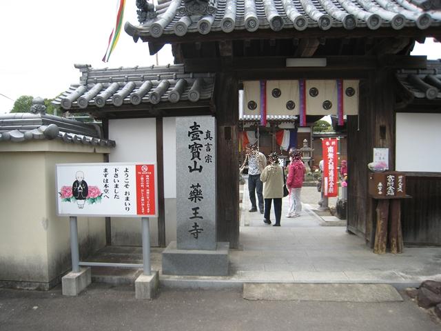 薬王寺の牡丹