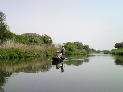 揚舟と骨伝導巡礼