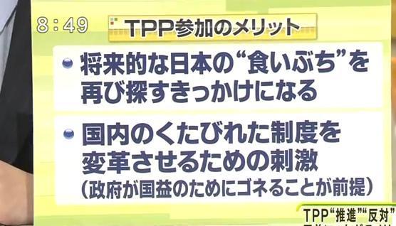 黄昏の森のブログ-TPP