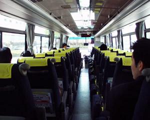 羽田空港リムジンバス(3)客室内