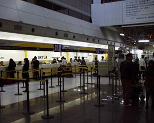 羽田空港(3)SKYチェックインカウンター