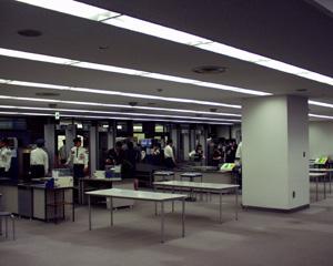 羽田空港(7)手荷物検査