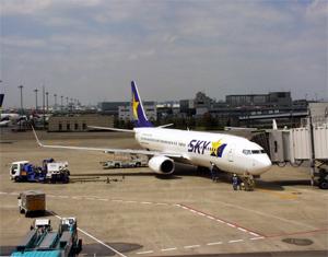 スカイマークB737-800 107便
