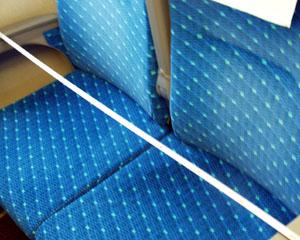 新幹線2列側座席幅