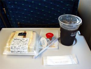 東海道新幹線モーニングセット