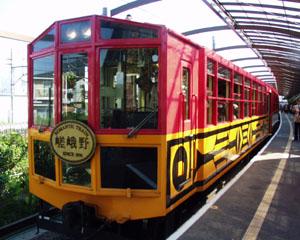 嵯峨野トロッコ列車1