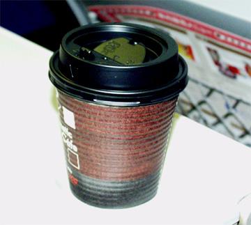車内販売コーヒー