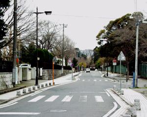 水戸城跡通り