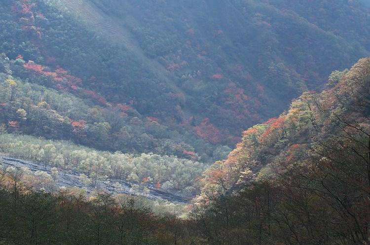 秋色の大谷崩 3