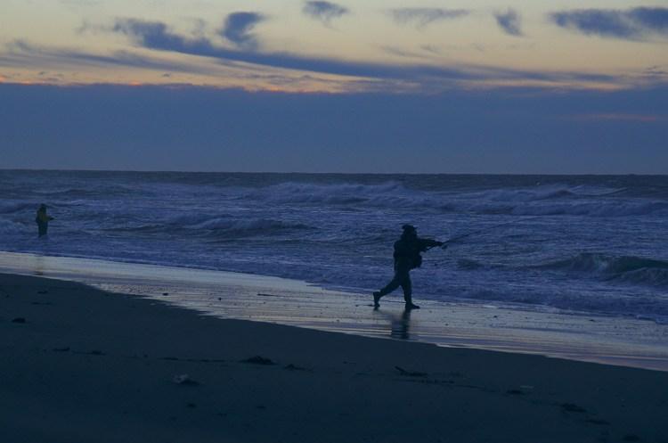 遠州灘 夜明け前