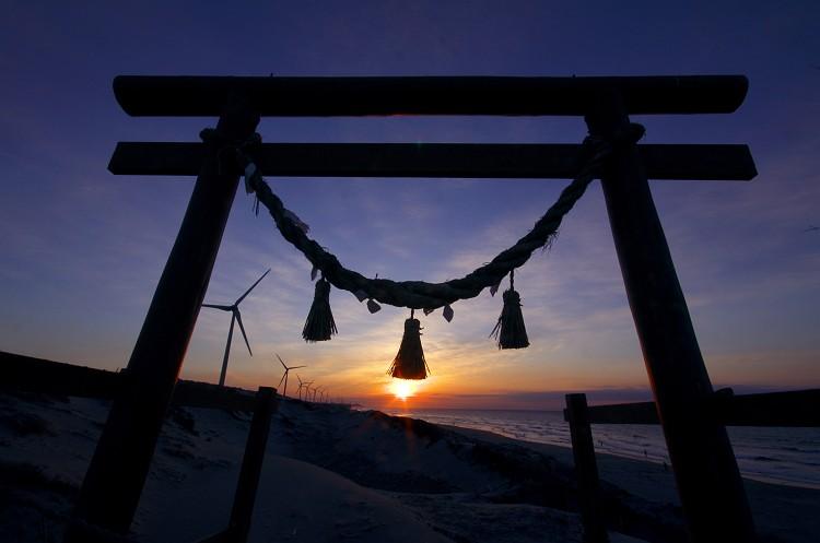 遠州灘の夜明け 3