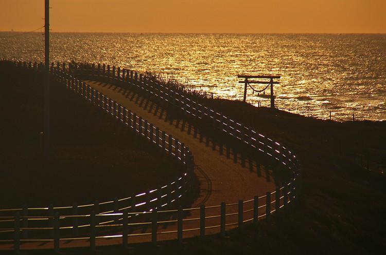 遠州灘の夜明け 4